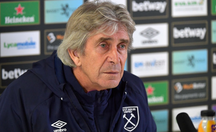 West Ham United Training and Press Conference(2019 West Ham United FC, West Ham United FC)