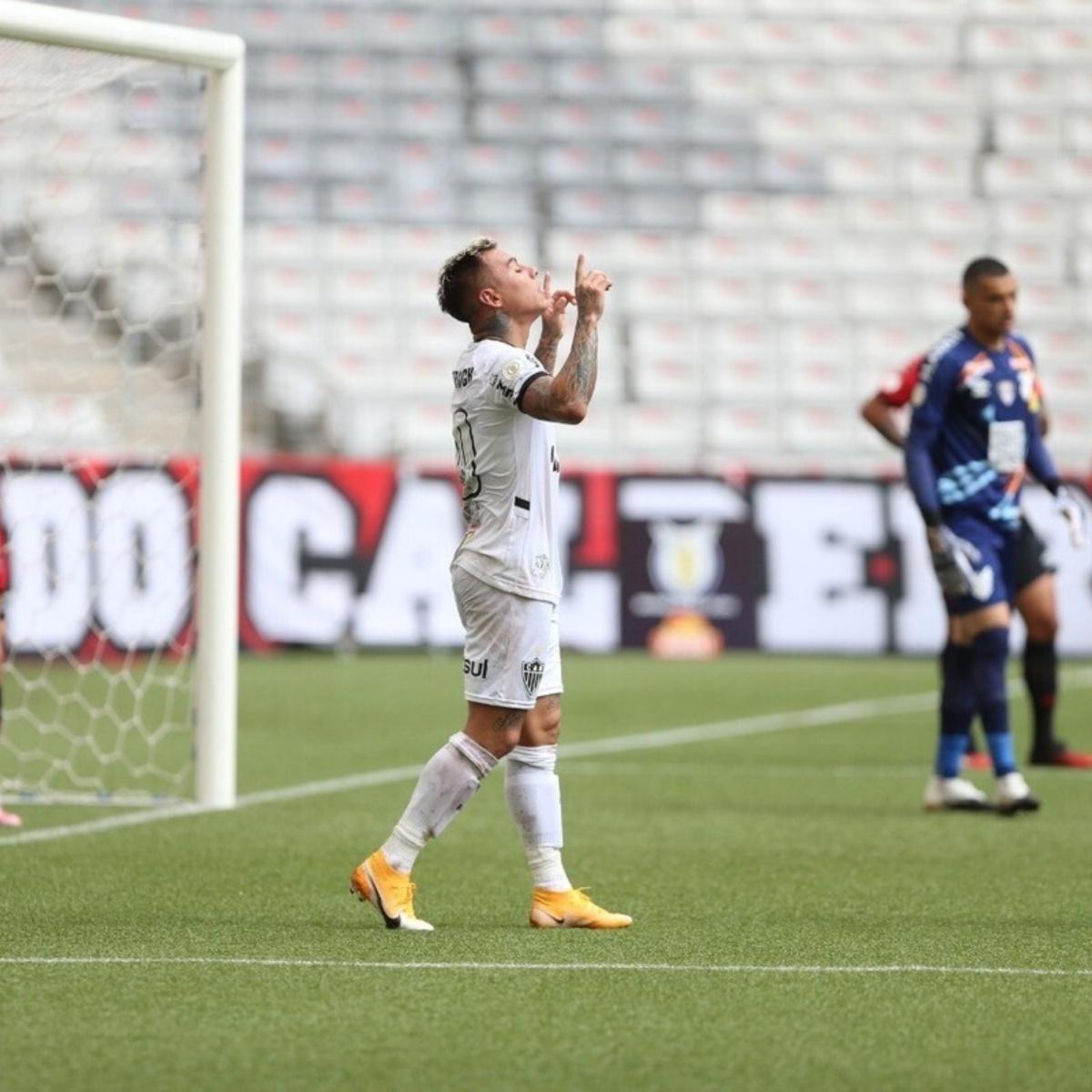 Vargas brilló y revitalizó a Atlético Mineiro | CDF.CL