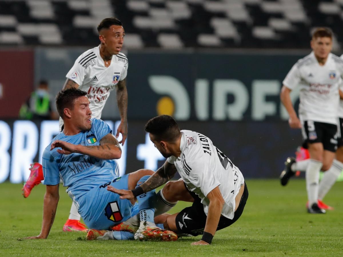 Colo Colo se quedó con diez y sin centrales | TNT Sports