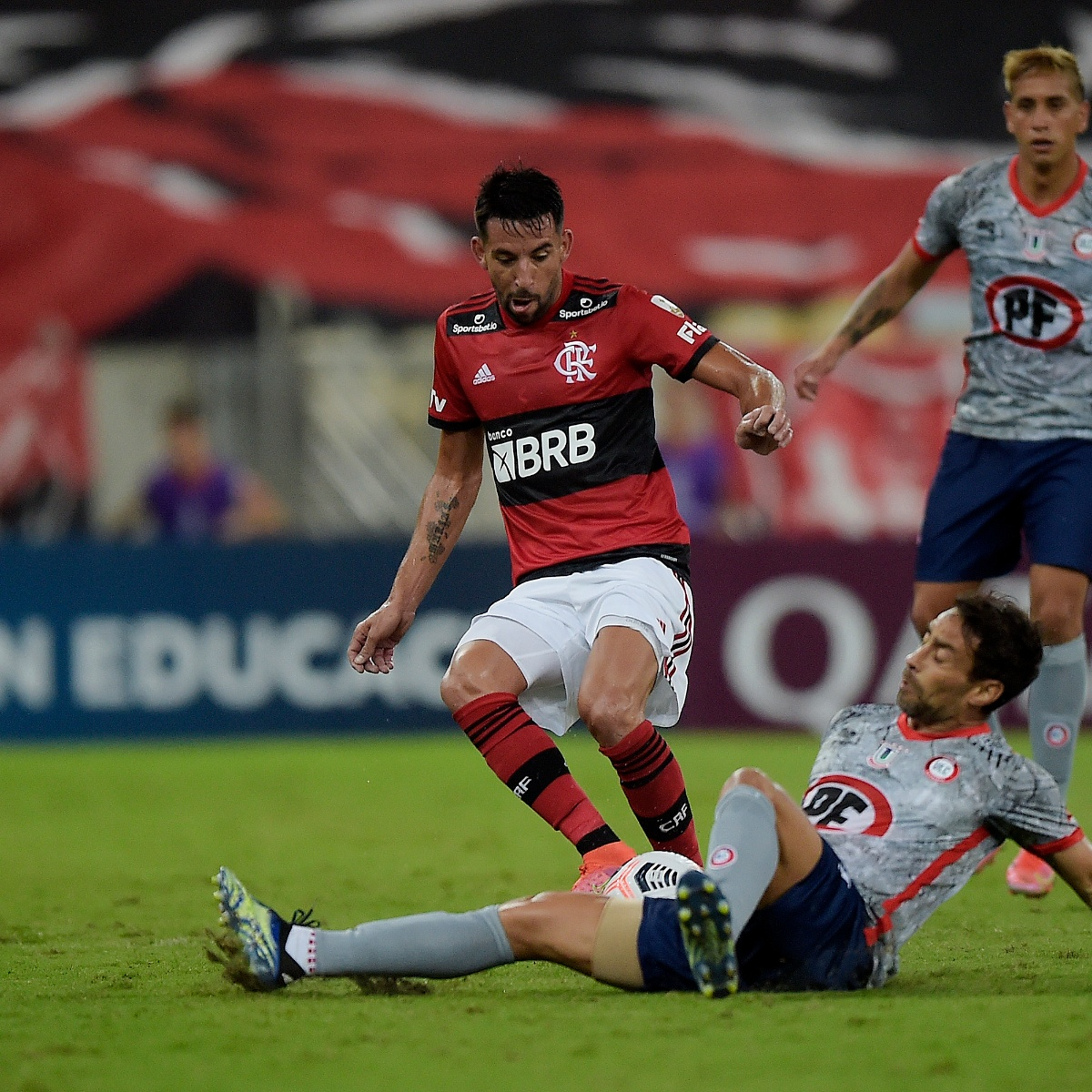 Unión La Calera dio batalla, pero fue goleado por Flamengo | TNT Sports