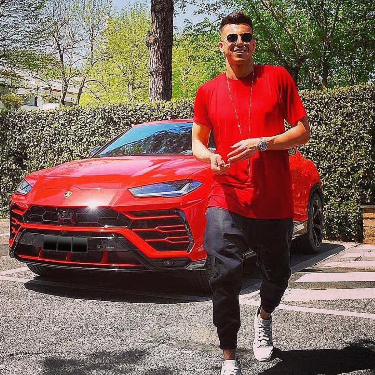 La historia que involucra a un chileno, El Shaarawy, un Lamborghini y la  justicia italiana   TNT Sports