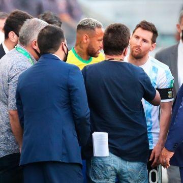 Messi y Scaloni hablaron tras el escándalo en el Brasil-Argentina | TNT  Sports